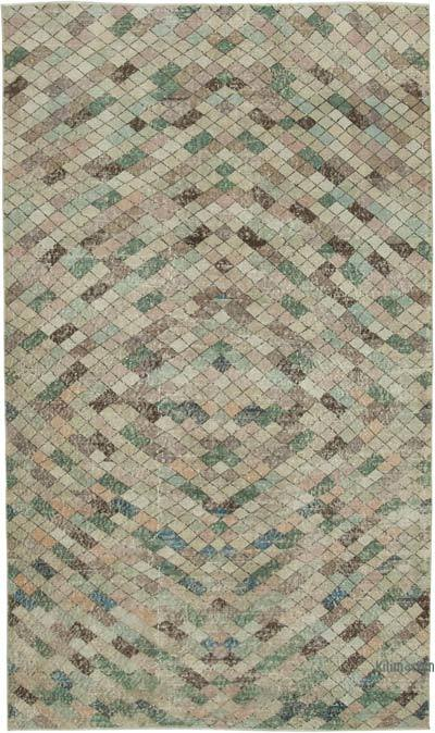 "Turkish Vintage Rug - 5'4"" x 9'2"" (64 in. x 110 in.)"