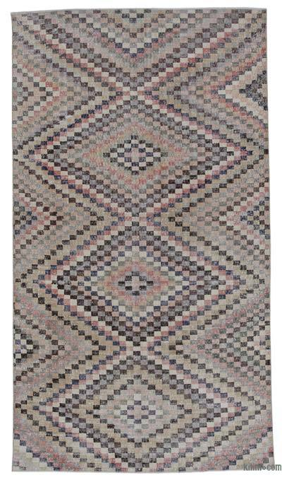 Turkish Vintage Rug - 5'11'' x 10'6'' (71 in. x 126 in.)