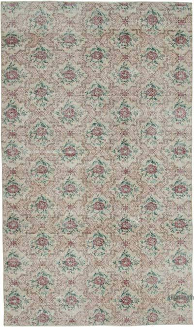 Turkish Vintage Rug - 6' x 10'1'' (72 in. x 121 in.)