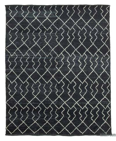New Contemporary Hand-Knotted Wool Area Rug - 7'10'' x 9'8'' (94 in. x 116 in.)