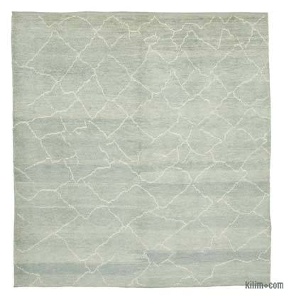"New Contemporary Hand-Knotted Wool Area Rug - 8'2"" x 9'6"" (98 in. x 114 in.)"