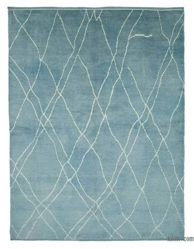 "New Contemporary Hand-Knotted Wool Area Rug - 7'10"" x 9'11"" (94 in. x 119 in.)"
