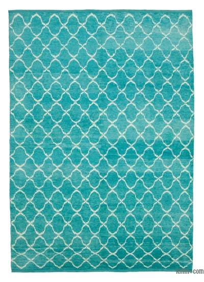 New Contemporary Hand-Knotted Wool Area Rug - 7'9'' x 10'10'' (93 in. x 130 in.)