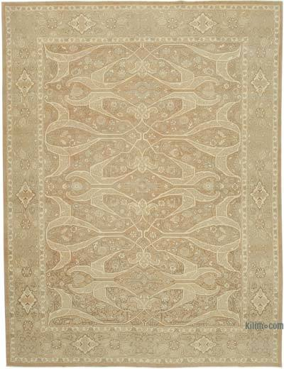 "New Hand Knotted All Wool Oushak Rug - 8'10"" x 14'8"" (106 in. x 176 in.)"