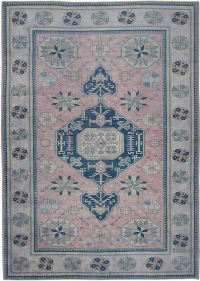 "New Hand Knotted All Wool Oushak Rug - 9'7"" x 13'5"" (115 in. x 161 in.)"