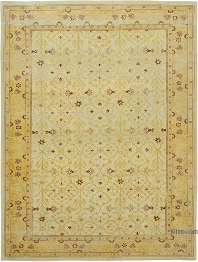 "New Hand Knotted All Wool Oushak Rug - 9'11"" x 13'4"" (119 in. x 160 in.)"