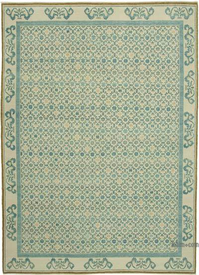 "New Hand Knotted All Wool Oushak Rug - 9'11"" x 13'11"" (119 in. x 167 in.)"
