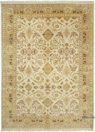 "New Hand Knotted All Wool Oushak Rug - 10' x 13'7"" (120 in. x 163 in.)"