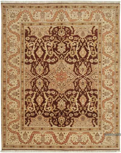 "New Hand Knotted All Wool Oushak Rug - 7'10"" x 9'8"" (94 in. x 116 in.)"