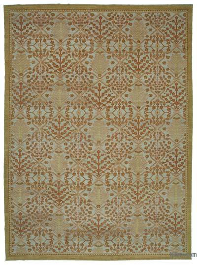 "New Hand Knotted All Wool Oushak Rug - 10'3"" x 14'1"" (123 in. x 169 in.)"