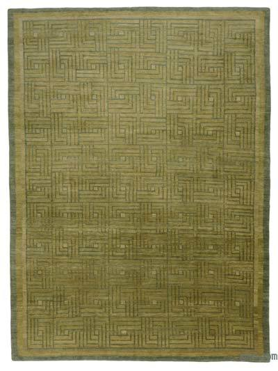 "New Hand Knotted All Wool Oushak Rug - 9'11"" x 13'5"" (119 in. x 161 in.)"