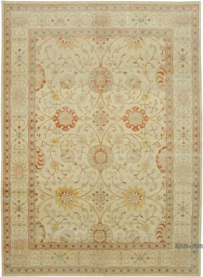 "New Hand Knotted All Wool Oushak Rug - 8'9"" x 11'9"" (105 in. x 141 in.)"