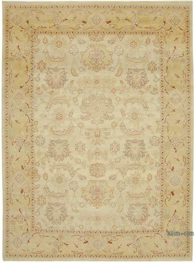 "New Hand Knotted All Wool Oushak Rug - 8'8"" x 11'10"" (104 in. x 142 in.)"
