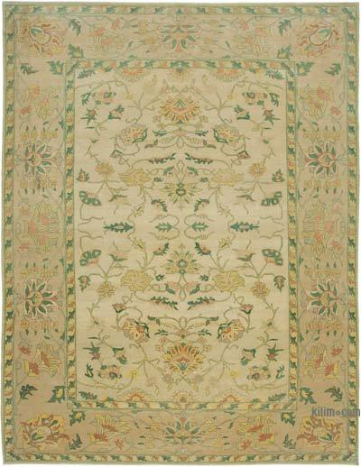 "New Hand Knotted All Wool Oushak Rug - 9'11"" x 13'1"" (119 in. x 157 in.)"