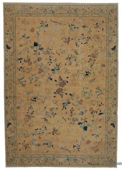 "New Hand Knotted All Wool Oushak Rug - 9'11"" x 14'4"" (119 in. x 172 in.)"