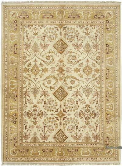 "New Hand Knotted All Wool Oushak Rug - 8'9"" x 11'11"" (105 in. x 143 in.)"
