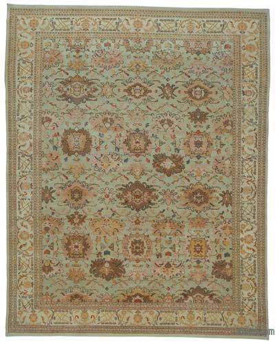 "New Hand Knotted All Wool Oushak Rug - 10'3"" x 13' (123 in. x 156 in.)"