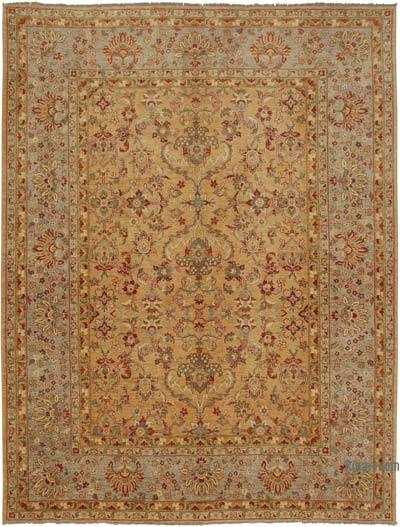 "New Hand Knotted All Wool Oushak Rug - 10'2"" x 13'3"" (122 in. x 159 in.)"