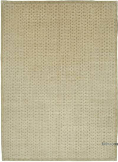"New Hand Knotted All Wool Oushak Rug - 9'6"" x 13'3"" (114 in. x 159 in.)"