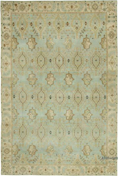 "New Hand Knotted All Wool Oushak Rug - 9'9"" x 14'9"" (117 in. x 177 in.)"