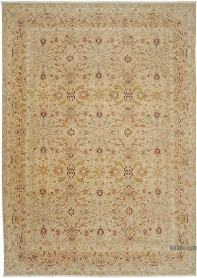 "New Hand Knotted All Wool Oushak Rug - 9'11"" x 13'9"" (119 in. x 165 in.)"