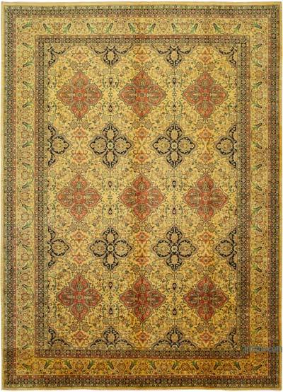 "New Hand Knotted All Wool Oushak Rug - 9'8"" x 13'7"" (116 in. x 163 in.)"