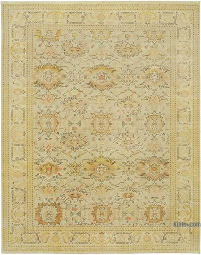 "New Hand Knotted All Wool Oushak Rug - 8'11"" x 11'5"" (107 in. x 137 in.)"