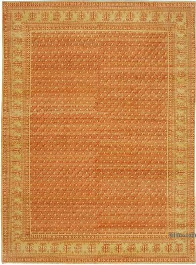 "New Hand Knotted All Wool Oushak Rug - 8'10"" x 11'11"" (106 in. x 143 in.)"