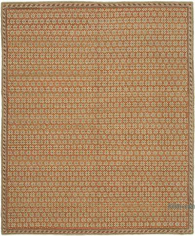 "New Hand Knotted All Wool Oushak Rug - 8'2"" x 10'1"" (98 in. x 121 in.)"