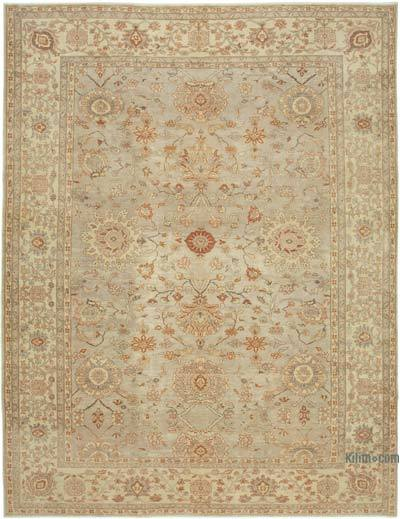 "New Hand Knotted All Wool Oushak Rug - 9'9"" x 12'8"" (117 in. x 152 in.)"