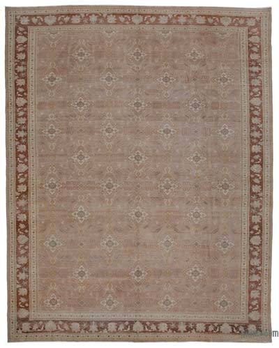 "New Hand Knotted All Wool Oushak Rug - 11'11"" x 14'10"" (143 in. x 178 in.)"