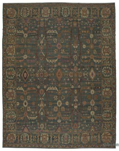 "New Hand Knotted All Wool Oushak Rug - 11'11"" x 15'6"" (143 in. x 186 in.)"