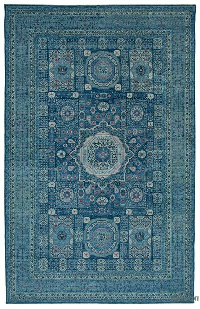 "New Hand Knotted All Wool Oushak Rug - 9'9"" x 15'5"" (117 in. x 185 in.)"