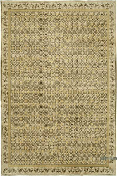 "New Hand Knotted All Wool Oushak Rug - 9'11"" x 15'4"" (119 in. x 184 in.)"