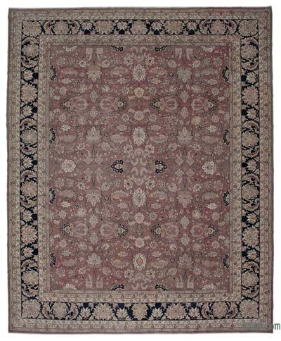 "New Hand Knotted All Wool Oushak Rug - 13'1"" x 16'1"" (157 in. x 193 in.)"