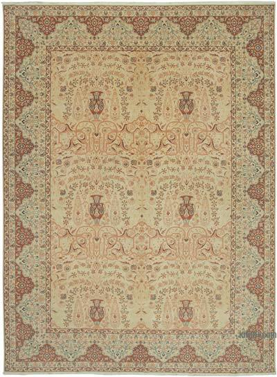 "New Hand Knotted All Wool Oushak Rug - 10'3"" x 13'10"" (123 in. x 166 in.)"