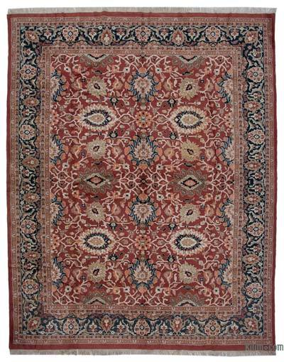 "New Hand Knotted All Wool Oushak Rug - 12'3"" x 15'7"" (147 in. x 187 in.)"