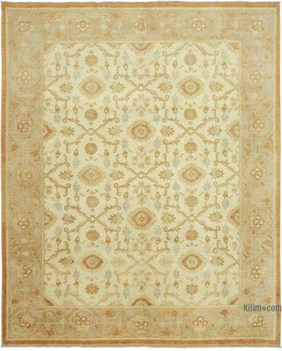 "New Hand Knotted All Wool Oushak Rug - 8'1"" x 10'1"" (97 in. x 121 in.)"