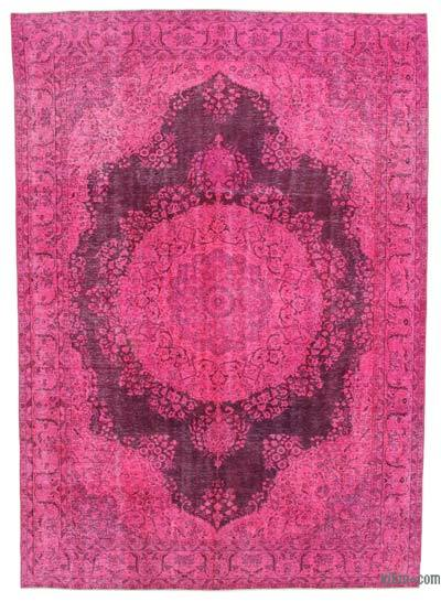 Over-dyed Vintage Rug - 7'9'' x 11'1'' (93 in. x 133 in.)