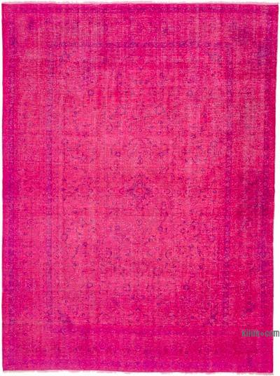 Over-dyed Vintage Rug - 9'1'' x 12'4'' (109 in. x 148 in.)