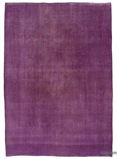 Over-dyed Vintage Rug - 8'1'' x 11'6'' (97 in. x 138 in.)