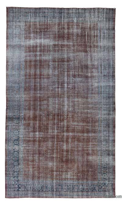 "Over-dyed Vintage Hand-knotted Oriental Rug - 11'10"" x 19'11"" (142 in. x 239 in.)"
