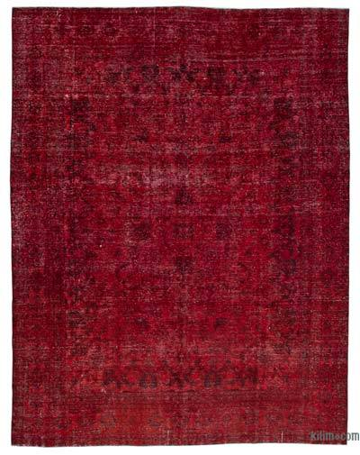 "Over-dyed Vintage Hand-knotted Oriental Rug - 9'8"" x 12'5"" (116 in. x 149 in.)"