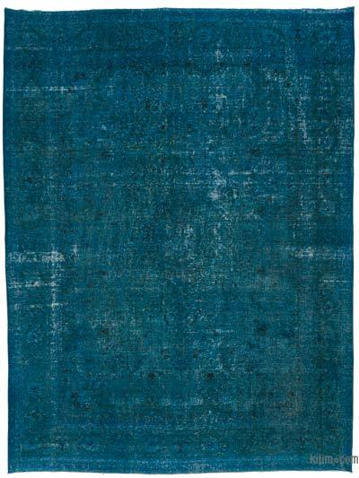 "Over-dyed Vintage Hand-knotted Oriental Rug - 10' x 13'3"" (120 in. x 159 in.)"