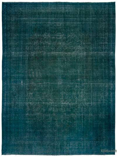 "Over-dyed Vintage Hand-knotted Oriental Rug - 9'4"" x 12'7"" (112 in. x 151 in.)"