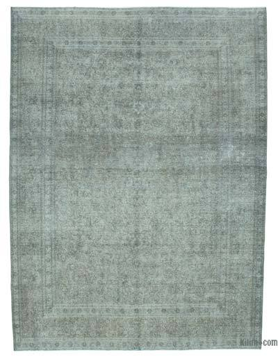 "Over-dyed Vintage Hand-knotted Oriental Rug - 8'8"" x 11'8"" (104 in. x 140 in.)"