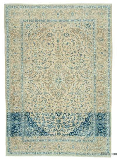 "Vintage Hand-knotted Oriental Rug - 8'9"" x 12'3"" (105 in. x 147 in.)"