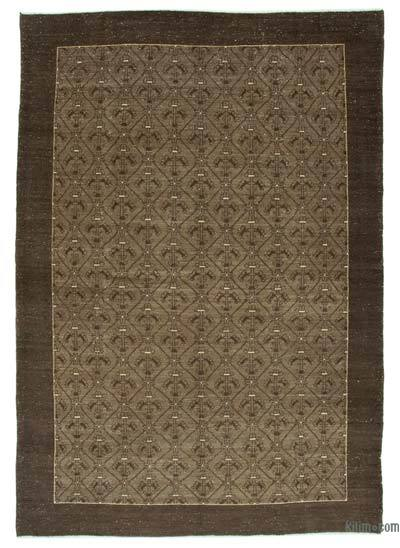 "Over-dyed Vintage Hand-knotted Oriental Rug - 8'3"" x 12'2"" (99 in. x 146 in.)"