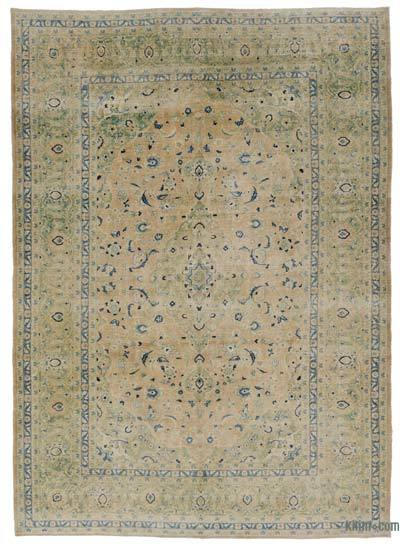"Over-dyed Vintage Hand-knotted Oriental Rug - 8'6"" x 11'10"" (102 in. x 142 in.)"