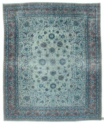 "Vintage Hand-knotted Oriental Rug - 10'10"" x 12'11"" (130 in. x 155 in.)"